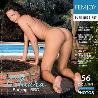 Burning BBQ