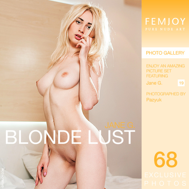 Blonde lust