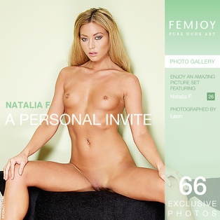 A Personal Invite